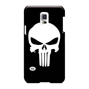 MarcClements Samsung Galaxy S5 Mini Protective Hard Cell-phone Case Custom Realistic The Punisher Logo Image [jMG1489oZOe]