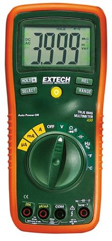 Extech EX430 True RMS Autoranging Multimeter by Extech