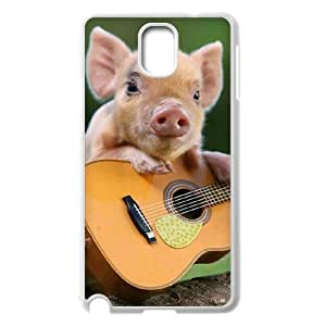 Diy Cute Pig Phone Case for samsung galaxy note 3 White Shell Phone JFLIFE(TM) [Pattern-2] hjbrhga1544