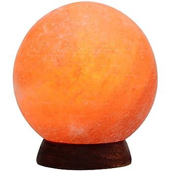 Amazon.com: Himalayan Glow 1451 Natural Crystal Globe Salt Lamp ...