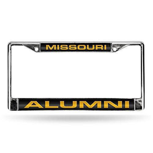 Rico Missouri Tigers Alumni NCAA Chrome Metal Laser Cut License Plate Frame