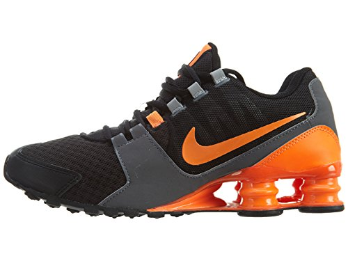 Nike Mens Shox Avenue Synthetic Running Shoes Black/Total Orange/Wolf Grey a2Ibod