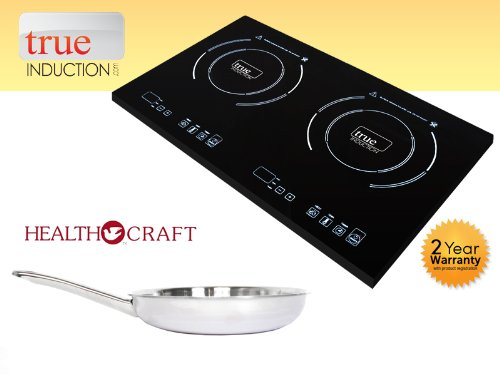 Health Craft Stainless Steel 10.5 Inch French Gourmet Skillet by Health Craft True Induction (Image #2)