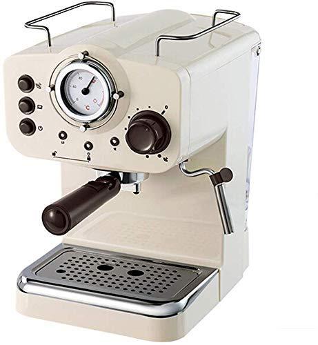 Nuokix Doméstico Semi Aautomatic máquina de Espresso 15BAR Cafetera Italiana Doble Control de la Temperatura de Vapor de…
