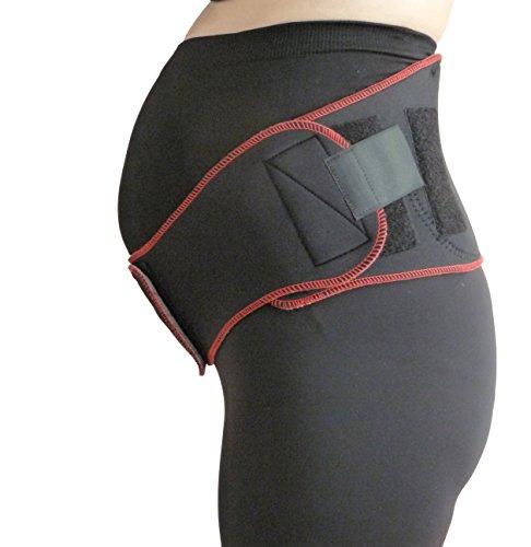 TSM 88 5213 Bandage de sport Bandeau de grossesse Noir Taille M