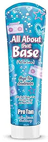 All About That Base Tanning Lotion 9oz (Indoor Tanning Bed Accelerator)