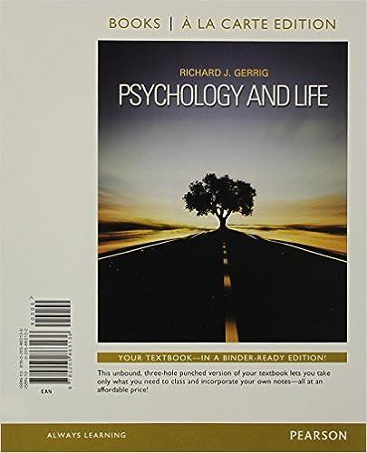 Amazon psychology and life books a la carte edition 20th psychology and life books a la carte edition 20th edition 20th edition fandeluxe Image collections