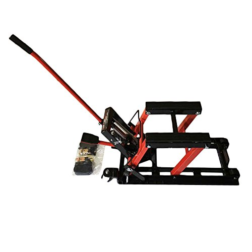 Hydraulic Motorcycle Lift Truck : Hydraulic motorcycle atv jack lift stand quad dirt street