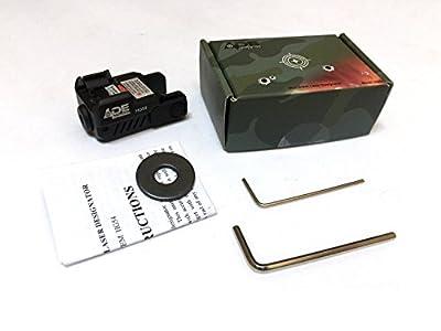 Ade Advanced Optics HG54G Strobe Laser Sight for Pistol Handgun, Green