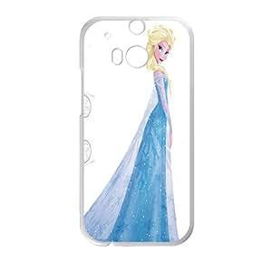 Frozen Queen Elsa White HTC M8 case