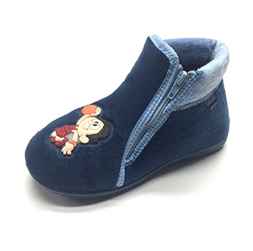 Gezer Blue Boys' Boys' Gezer Slippers Blue Slippers Boys' Blue Gezer Gezer Slippers HwCqf