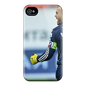 Iphone 4/4s Cover Case - Eco-friendly Packaging(the Best Goalkeeper Cska Moscow Igor Akinfeev)