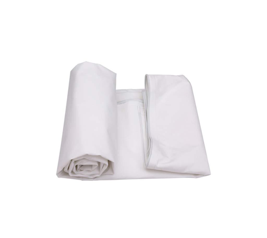 アウトドアホームキャンプ/マルチサイズのための防水ポンチョ白織物ターポリン (サイズ さいず : 10 * 6m) B07JHMP2JP   10*6m