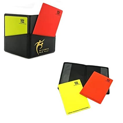 8fefe3302d2 Amazon.com: Leather FIFA Referee Wallet - Original Product (+FREE Referee  Coin): Sports & Outdoors