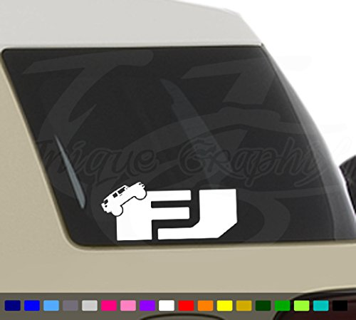 FJ Cruiser Decal Car Truck Window Sticker Unique Graphix