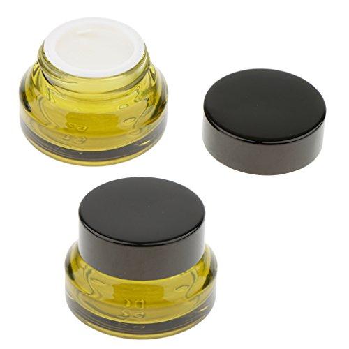 15g di portatili lattine crema unità 2 di ricette Blesiya B pacchetto cosmetico vetro bottiglie qORwXpTXx