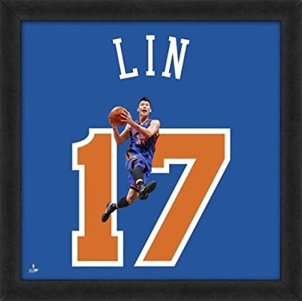 new styles fecd5 01721 Amazon.com : Biggsports Jeremy Lin New York Knicks 20x20 ...