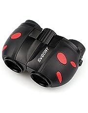 Svbony 8 x 21 telescopios prismáticos niños, Bonito,Ligero y un Buen Regalo para los niños de observar de Aves, al Aire Libre, los Deportes