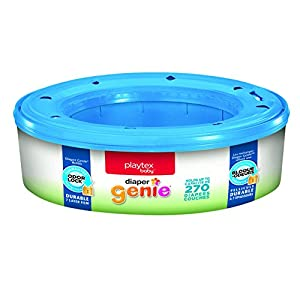 Ratings and reviews for Playtex Diaper Genie Refills for Diaper Genie Diaper Pails - 270 Count (Pack of 3)