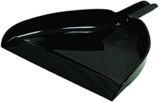 """product image for Libman Commercial 928 Dust Pan, 13"""" Wide, Black (Pack of 12)"""