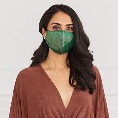 Luxury reusable and adjustable face covering