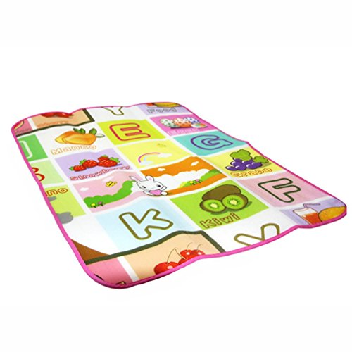 Baby Musical Cartoon Animal Piano Play Mat Language Learning Toy - 9