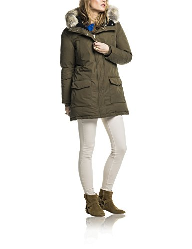 Hooded Mujer amp; para Trim with Soda Maison Fur Parka Down Marrón Removable Scotch Chaqueta wtqAd7q