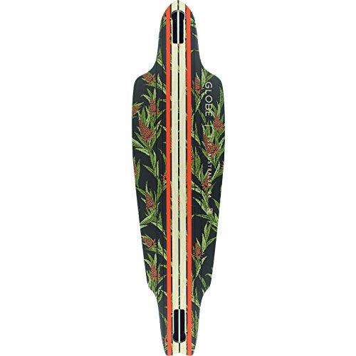 伝記意図するなくなるGlobe Prowler Vintage Black / Thistle Skateboard Deck - 10 x 38 by Globe
