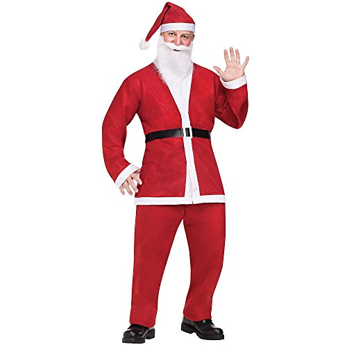 Fun World Costumes Mens Adult Pub Crawl Santa Suit