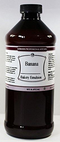 LorAnn Banana Bakery Emulsion, 16 Ounce