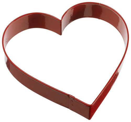 Wilton 5 Inch Colored Heart Metal Cookie Cutter, Colors may Vary
