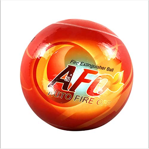 (AFO Fireball Automatic Fire Extinguisher Ball with Wall Mounting Bracket (15cm Diameter))