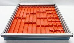Schaller 49 Pc Red Plastic Box Assortment 1\