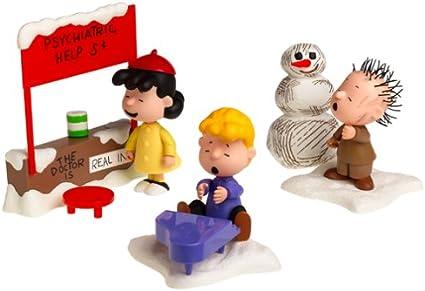 Peanuts Figures Christmas 2020 Set Amazon.com: Peanuts: A Charlie Brown Christmas Action Figure Box