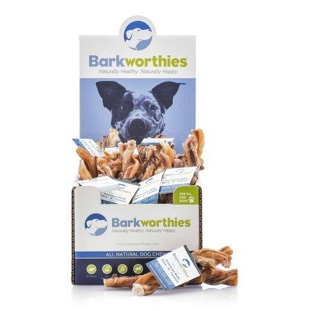 Barkworthies BARK-TWOFAM6MC Bully Stick - Odor Free American Twisted - 06 in. Mini Case
