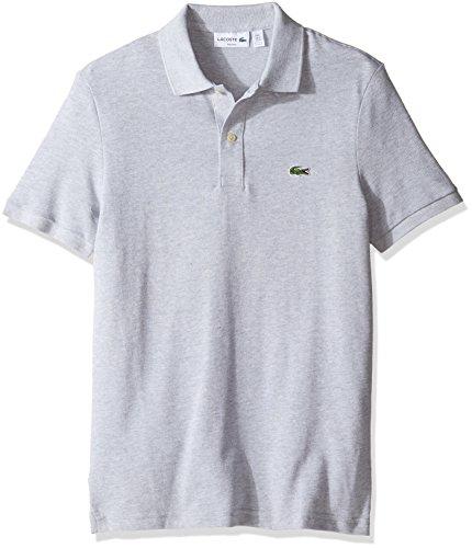 d884dcb29 Lacoste Men s Classic Pique Slim Fit Short Sleeve Polo Shirt