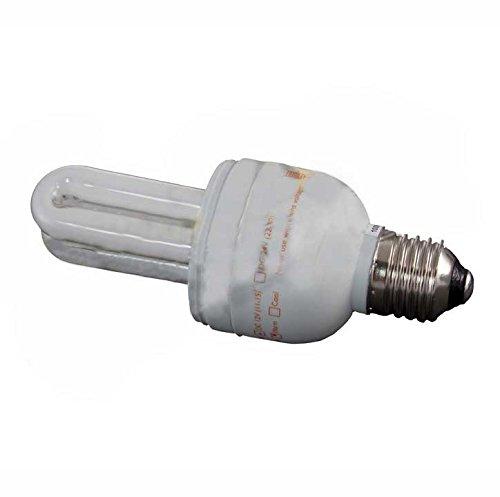 Compact Fluorescent Bulb - 7 Watt, 12 Volt DC, U-Tube, 2700K Warm, Phocos (Compact E27)