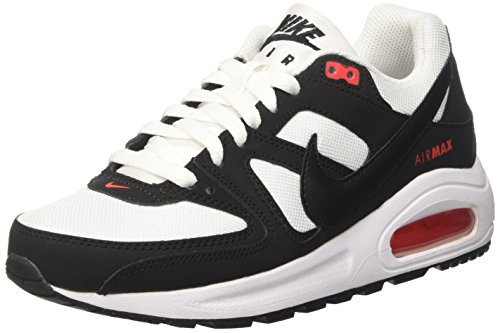 Nike max Flex Sneakers GS Basses Mehrfarbig Black White Air 100 Max Multicolore Orange Garçon Command rZ7qwrC4x