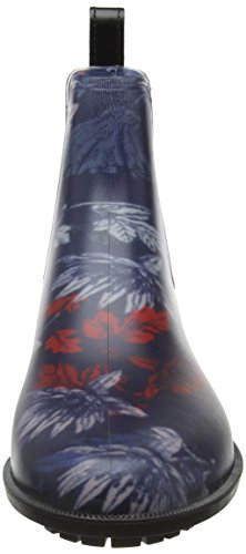Tom joule Rockingham - Botas de agua Mujer Blue (French Navy Fay Floral)