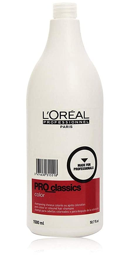 shampooing professionnel pour cheveux colorés