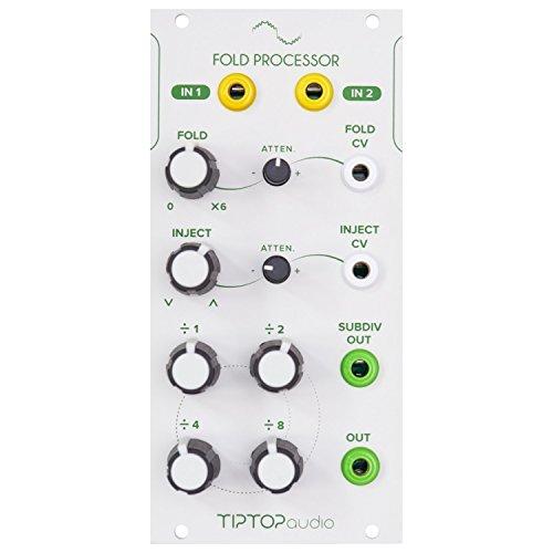 Tiptop Audio Fold Processor Eurorack Wave Multiplier Module