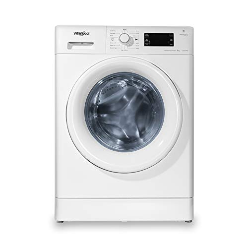 Whirlpool 8 kg Inverter Fully Automatic Front Load Washing Machine  Fresh Care 8212, White, Inbuilt Heater