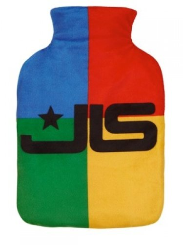 JLS Hot Water Bottle Natural Rubber Latex And Cover 100% Polyester