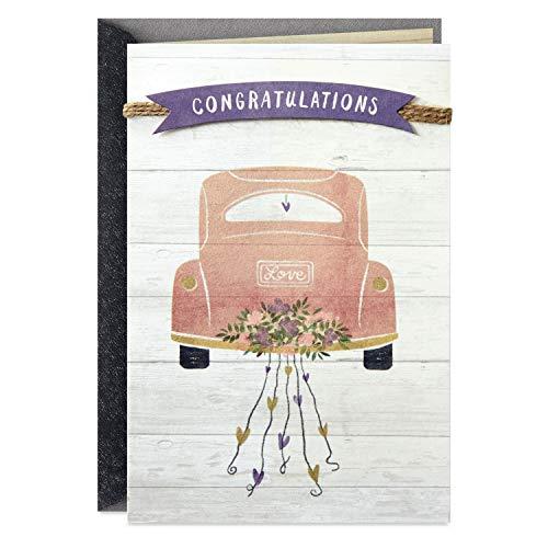 Hallmark Wedding Card, Bridal Shower Card, or Engagement Card (Enjoy The Journey)