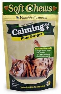 NATURVET 978320 Sft Chw Calm Aid+ for Cat 50-Count