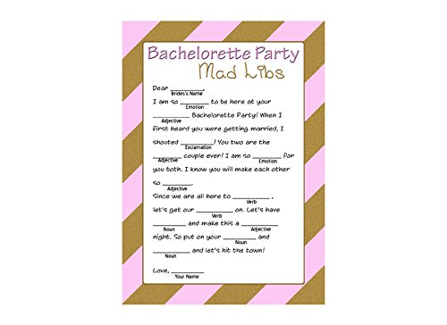 graphic regarding Printable Bachelorette Party Games named : Bachelorette Nuts Libs Activity - Bachelorette Get together