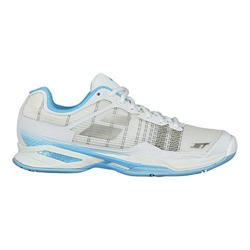 Babolat Dames Jet Mach I All Tennis Tennisschoenen Wit / Hemelsblauw