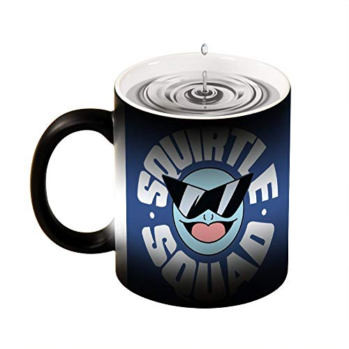 Avber Customizable Travel Coffee Mug With Squirtle Squad Cute Cool Ceramic Cup