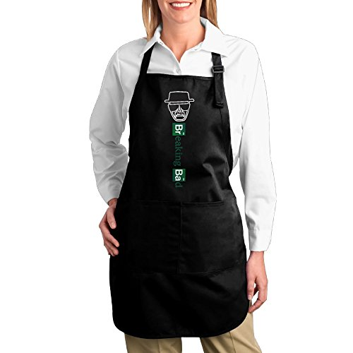 [Breaking Bad Logo Kitchen Aprons For Women Men,Cooking Apron,bib Apron With Pockets] (Breaking Bad Jesse Costumes)