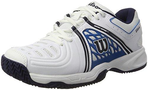 Wilson Wrs323450e135, Scarpe da Tennis Uomo, Bianco (White / Methyl Blue / Navy), 50 EU